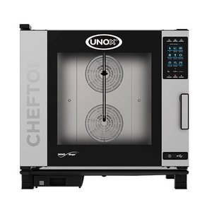 Unox Kombidämpfer Plus-Gas | XEVC-0621-GPR | 6 x 2/1 GN | 860X1120X843 (h) mm