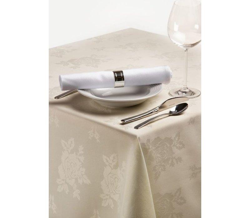 XXLselect Tablecloth 225x225 cm Ivory