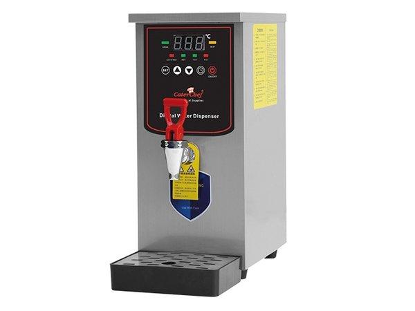 Caterchef Heißwassergerät mit Ablassventil und Retention | 210x400x (H) 450mm | 20 Liter pro Stunde
