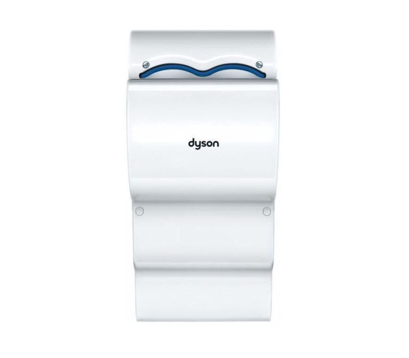Dyson Set Dyson Airblade AB14 Handdroger Wit + Lekbak | Met Muurscherming