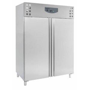 XXLselect Freezer Stainless Steel   1410 Liter   6x 2/1 GN   1480x830x2010 (H) mm