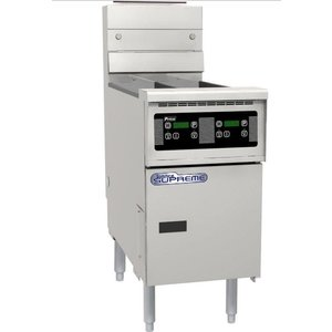 Pitco Digitale Gas Fryer | Pitco Solstice Supreme SSH55 | 23KW | Oil 23kg | 75kg / h | 397x875x864 (h) mm