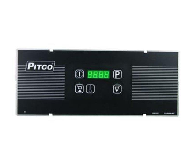Pitco Digitale Gas Fryer | Pitco Solstice Supreme SSH55 | 23KW | Oil 23kg | 75kg / h | 397x875x864 (h) mm
