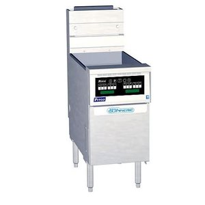 Pitco Friteuse Gas Computer | Pitco Solstice Supreme SSH55 | 23kW | Olie 23Kg | 75Kg/u | 397x875x864(h)mm