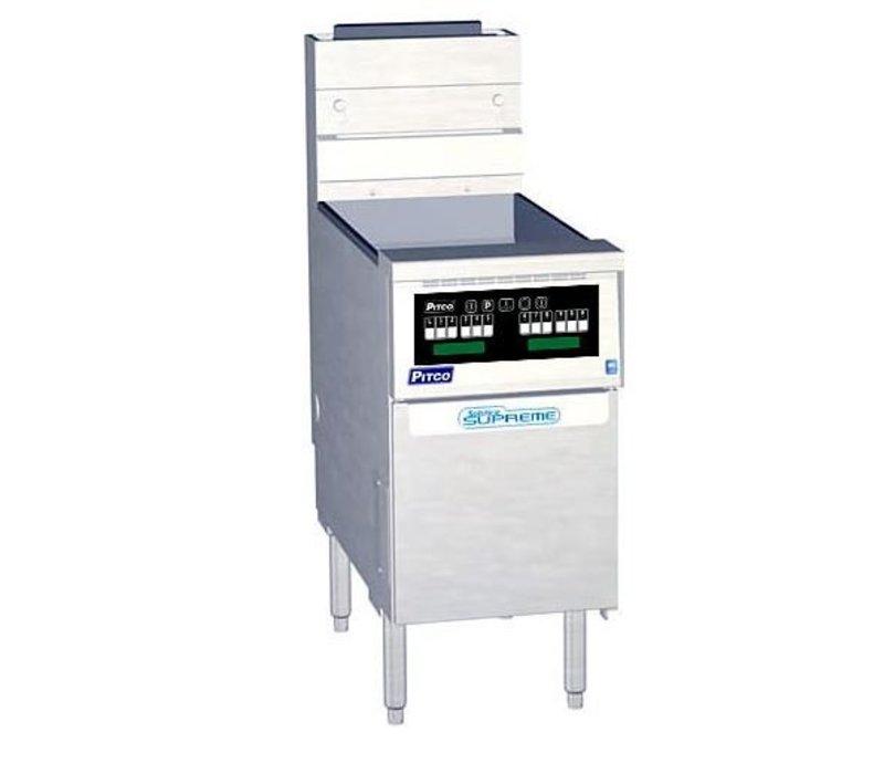 Pitco Fryer Gas Computer | Pitco Solstice Supreme SSH55 | 23KW | Oil 23kg | 75kg / h | 397x875x864 (h) mm