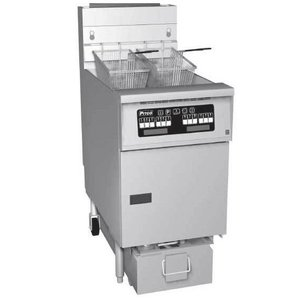 Pitco Fryer Gas Computer | Pitco SG18S | 40kW | Oil 34kg | 100kg / h | 498x876x863 (h) mm