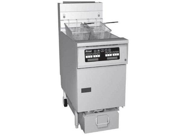 Pitco Friteuse Gas Computer | Pitco SG18S | 40kW | Olie 34Kg | 100Kg/u | 498x876x863(h)mm