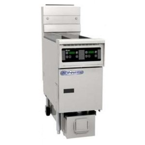Pitco Digitale Gas Fryer | Pitco Solstice SG14TS | 15kW | Oil 11kg | 60kg / h | 397x864x864 (h) mm