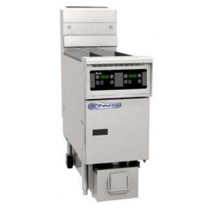 Pitco Friteuse Gas Digital | Pitco Solstice SG14TS | 15kW | Olie 11Kg | 60Kg/u | 397x864x864(h)mm