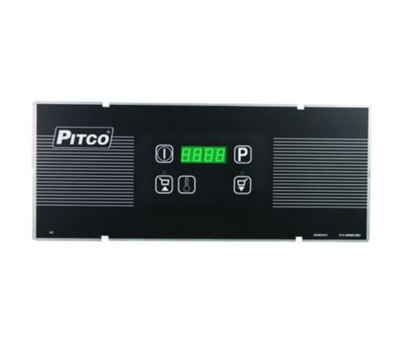 Pitco Digital Gas Fryer | Pitco Solstice SG14TS | 15kW | Oil 11kg | 60kg / h | 397x864x864 (h) mm