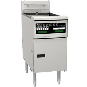 Pitco Fritteuse Elektro-Computer | Pitco SE18 | 22kW | Oil 41kg | 105kg / h | 499x873x864 (h) mm