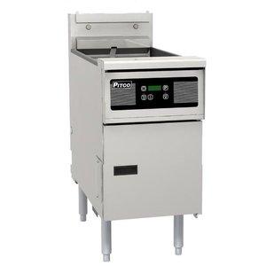 Pitco Fryer elektrische Digital | Pitco SE18 | 22kW | Oil 41kg | 105kg / h | 499x873x864 (h) mm