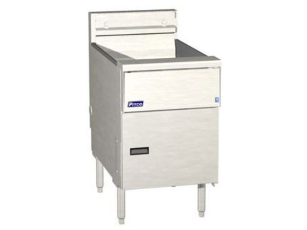 Pitco Fritteuse Elektro Solid State | Pitco SE18 | 22kW | Oil 41kg | 105kg / h | 499x873x864 (h) mm