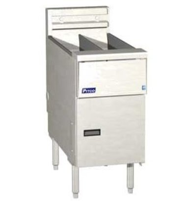 Pitco Fritteuse Elektro Solid State | Pitco Solstice SE14T | 8,5kW | Oil 11,5kg | 75kg / h | 397x873x864 (h) mm