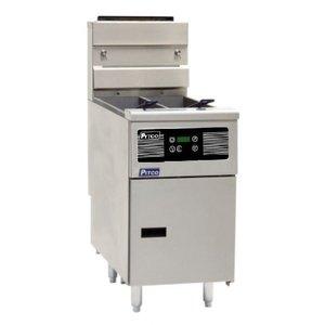 Pitco Friteuse Elektrisch Digital | Pitco Solstice SE14T | 8,5kW | Olie 11,5kg | 75Kg/u | 397x873x864(h)mm