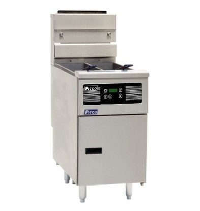 Pitco Fryer elektrische Digital | Pitco Solstice SE14T | 8,5kW | Oil 11,5kg | 75kg / h | 397x873x864 (h) mm