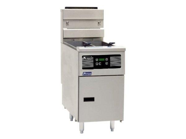 Pitco Fryer elektrische Digital | Pitco Solstice SE14T | 8,5kW | Oil 11,5kg | 75kg / h | 397x873x864 (h) mm