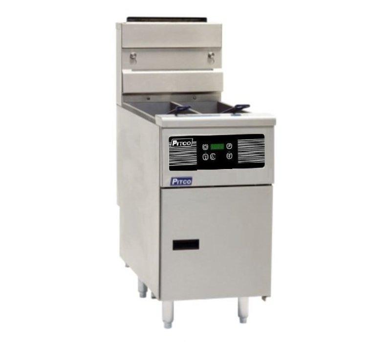 Pitco Fryer Electric Digital | Pitco Solstice SE14T | 8,5kW | Oil 11,5kg | 75kg / h | 397x873x864 (h) mm