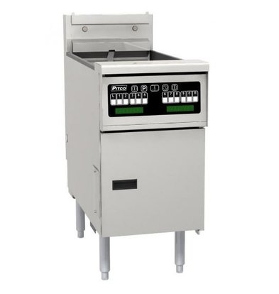 Pitco Fritteuse Elektro-Computer | Pitco Solstice SE14T | 8,5kW | Oil 11,5kg | 75kg / h | 397x873x864 (h) mm