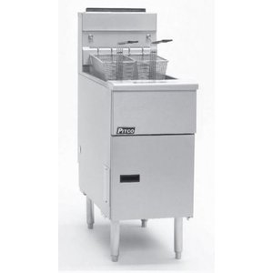 Pitco Fryer Electric Solid State   Pitco Solstice SE14   17kW   Oil 23kg   60kg / h   397x873x864 (h) mm