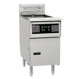Pitco Fryer Electric Digital | Pitco Solstice SE14 | 17kW | Oil 23kg | 60kg / h | 397x873x864 (h) mm