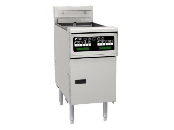 Pitco Fryer Electric Computer | Pitco Solstice SE14SC | 17kW | Oil 23kg | 60kg / h | 397x873x864 (h) mm