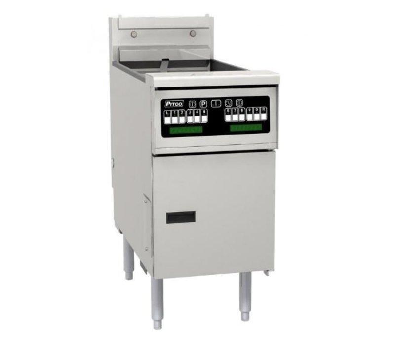Pitco Fritteuse Elektro-Computer | Pitco Solstice SE14SC | 17kW | Oil 23kg | 60kg / h | 397x873x864 (h) mm