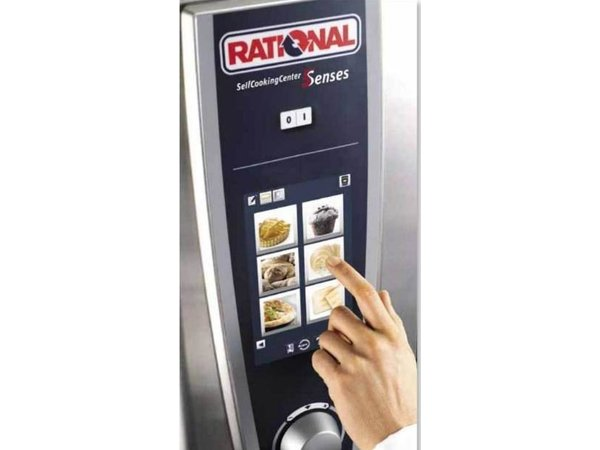 Rational Rational Steamer SCC 61E Elektrisch | Self Cooking Center Type 61 | 6 x 1/1GN of 12 x 1/2GN | 30-80 Couverts