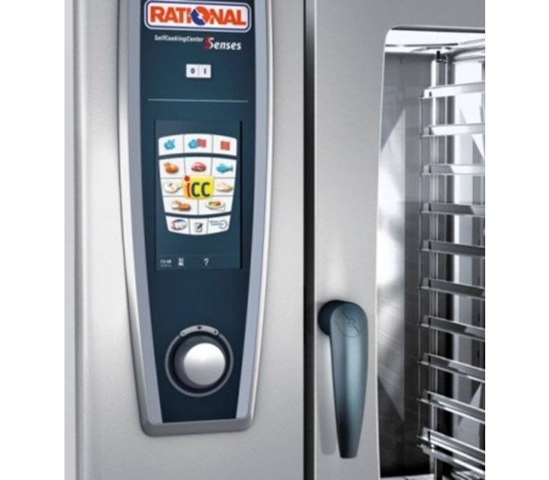 Rational Rational Combisteamer SCC 62G Gas | Self Cooking Center 62 | 6x2/1GN of 12 x 1/1GN | 60-160 Couverts