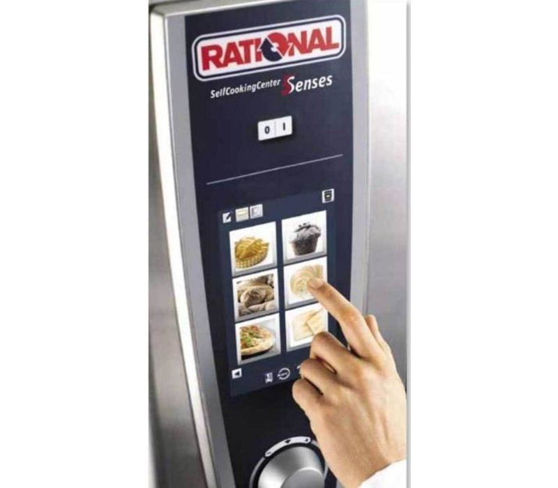 Rational Rational Steamer SCC 201E Elektrisch | Self Cooking Center 201 | 20x1/1GN of 40 x 1/2GN | 150-300 Couverts