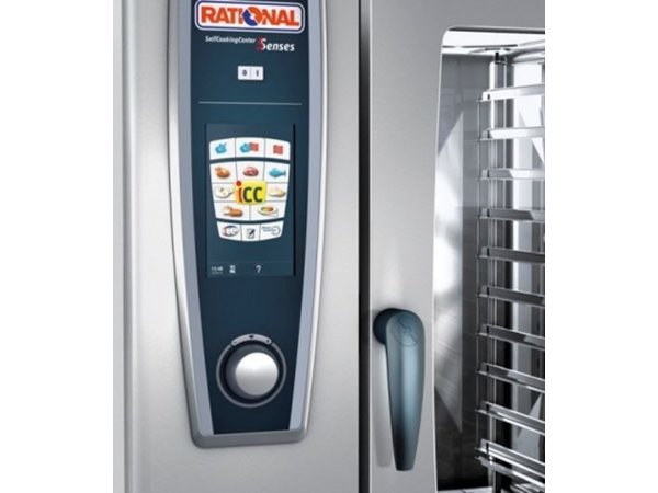 Rational Rational Steamer SCC 201G Gas | Self Cooking Center Type 201 | 20x1/1GN of 40 x 1/2GN | 150-300 Couverts