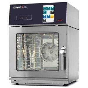 Leventi Combisteamer 6x 2/3GN | Leventi ME SLiM 23.06 | 6,6kW |400V | 515x630x720(h)mm