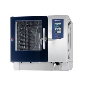 Leventi Combisteamer Leventi ME 1:06 BDI | Gas 13kW | 4x / 5x / 7x AND 400x600 or GN 1/1 | 899x831x827 (h) mm
