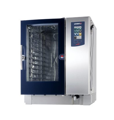 Leventi Combisteamer Leventi ME 1:10 BDI | 8x / 10x / 11x AND 400x600 or GN 1/1 | 18kW / 400V 3x | 899x831x1087 (h) mm