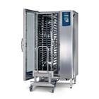 Leventi Kombidämpfer ME 01.20 FDI Pet | 20x / 15x UND 40x60 oder GN1 / 1 | 36kW | Inkl. Rahmen und Trolley | 899x831x1852 (h) mm
