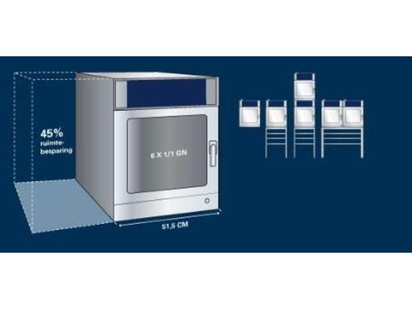 Leventi Combisteamer 6x 1/1GN | Leventi ME SLiM 1.06 | 8,4kW |400V | 515x808x720(h)mm