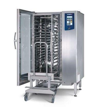 Leventi Bake-off-Ofen Leventi YOU 15 Pet | UND 15x 40x60 | Gas 18kW | Inkl. Rahmen und Trolley | 899x831x1855 (h) mm
