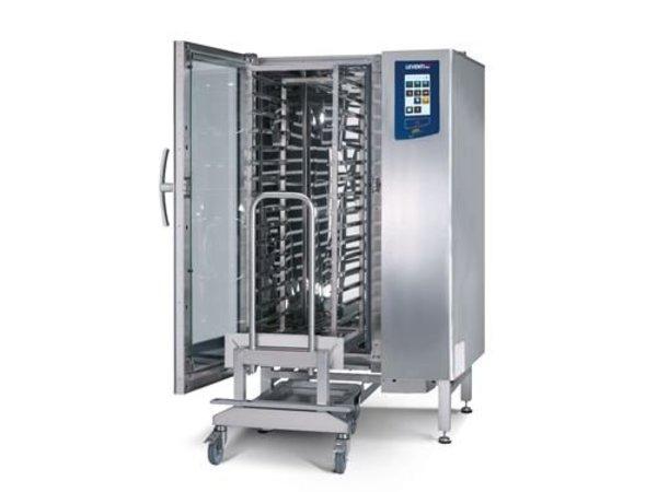 Leventi Bake-off Oven Leventi YOU 15 Roll-in   15x EN 40x60   36kW/400V   Incl. Onderstel en Trolley   899x831x1855(h)mm