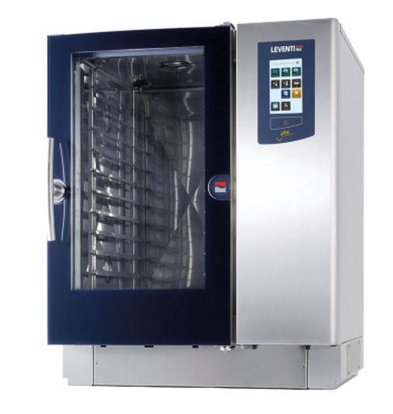 Leventi Bake-off Oven Leventi YOU 8 | Gas 21kW | 8x/10x/11x EN 60x40, GN, Trolleysysteem | 899x831x1087(h)mm
