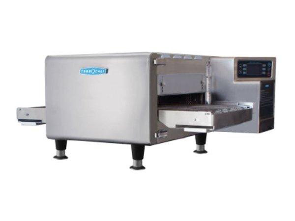 TurboChef Turbo Ofen Band Hhc 1618 | Geeignet für 2/3 GN | 400V | Band-Länge 914/1219 mm, Breite 406 mm