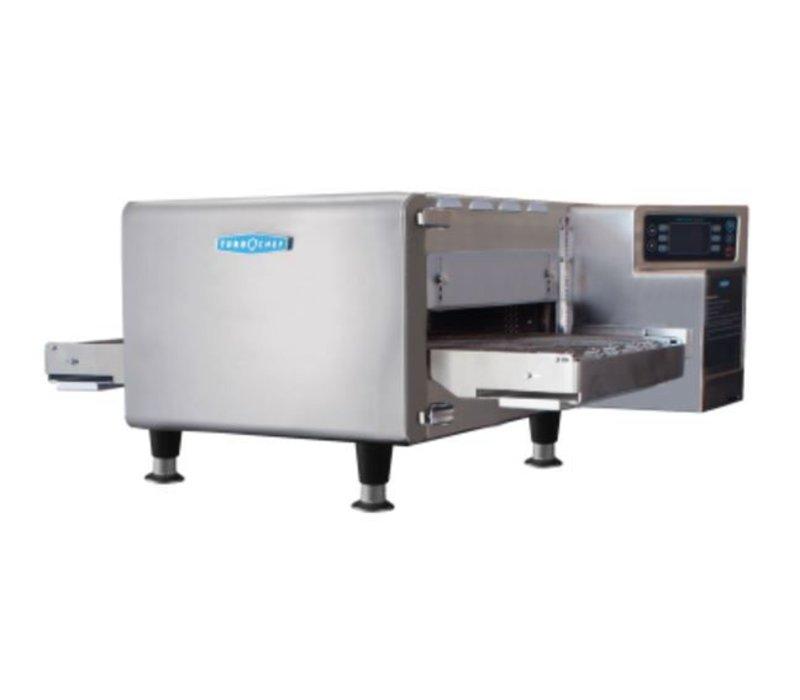 TurboChef TurboChef Bandoven Hhc 1618 | Geschikt voor 2/3 GN | 400V | Bandlengte 914/ 1219mm, Breedte 406mm