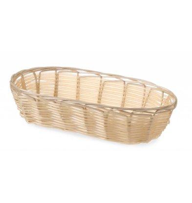 Hendi Bread Basket Oval - Polyrattan - 230x100x (h) 60 mm