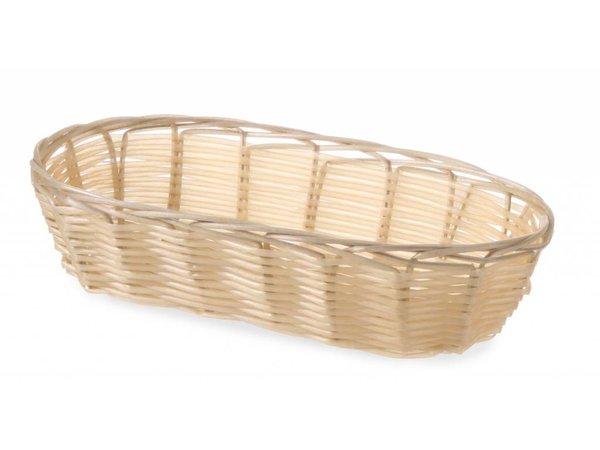Hendi Bread Basket Oval - Polyrattan - 3 Stück - 230x100x (h) 60 mm