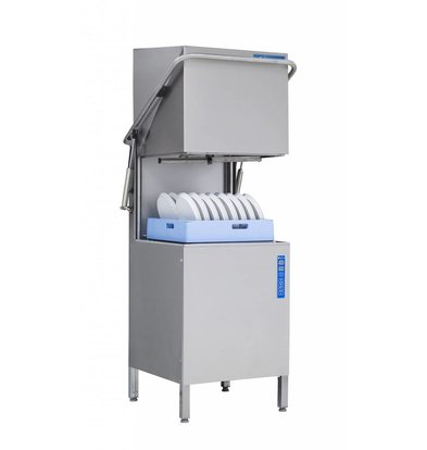Rhima Pass Trough Dishwasher 60x40cm | RHIMA WD-6 PLUS GREEN | Incl. Break Tank and Naspoeldrukverhogingspomp