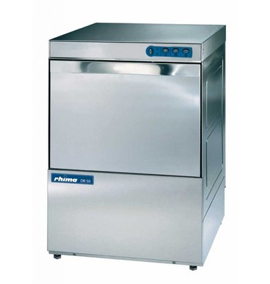 Rhima Vaatwasmachine 50x50cm | Rhima DR50 | Keuze 230/400V | 590x600x850mm | MADE IN EUROPE
