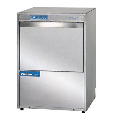 Rhima Vaatwasmachine 50x50cm | Rhima DR50i | Dubbelwandig | Keuze 230/400V | MADE IN EUROPE