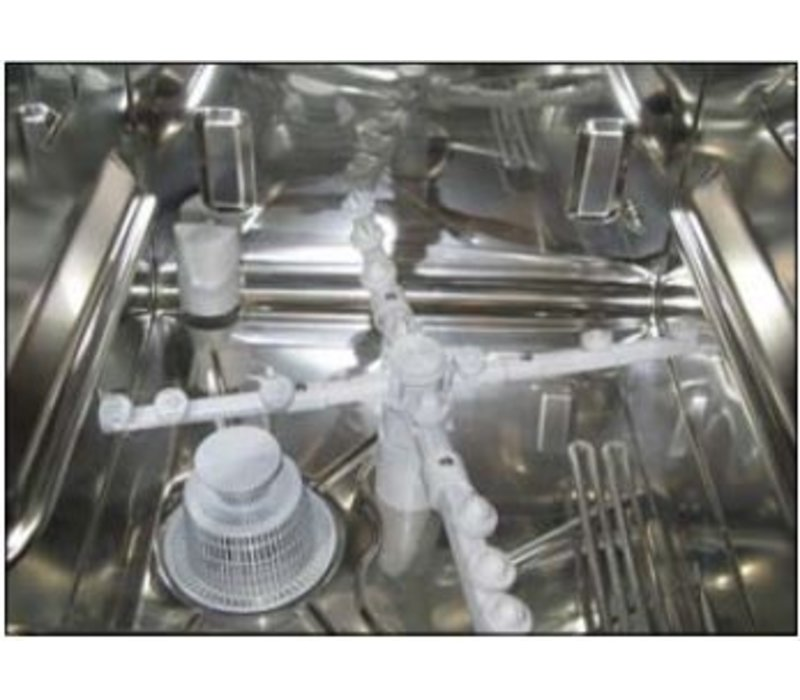 Rhima Gläserspüler 40x40cm | Rhima DR40E plus | Kompakt-Modell | 450x530x720mm