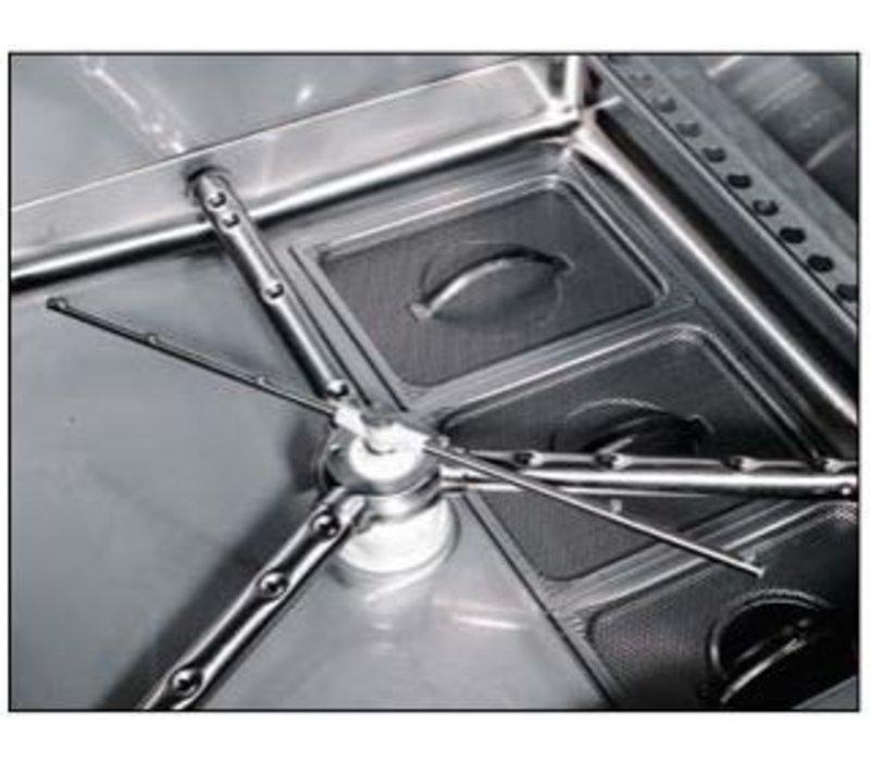 Rhima Pot-Washing | RHIMA DR 365E HR Plus | 850x725mm stainless steel basket