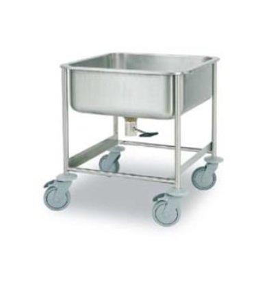 Rhima Mobile Waschbecken | Rhima 75 AV | 610x610x700mm