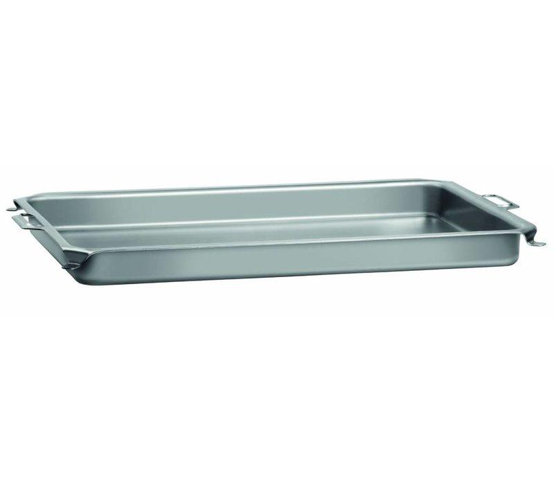Bartscher Tabelle für Pan Roast Grill | Sheet | Mit Griffen | 870x525x (H) 65 mm